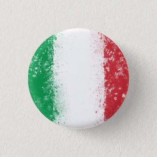 Flag of Italy Pinback Button
