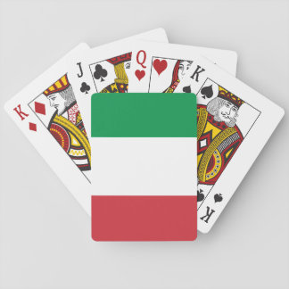 Flag of Italy Playing Cards