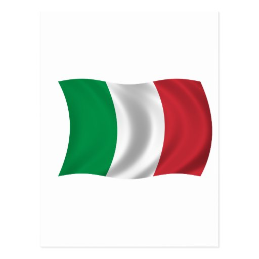 Flag of Italy Post Cards