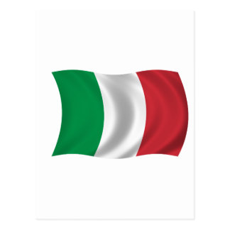Flag of Italy Postcard