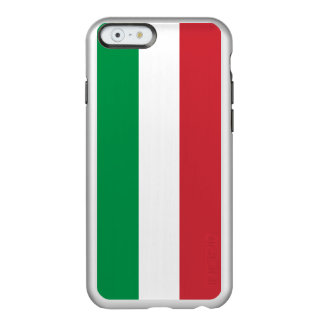 Flag of Italy Silver iPhone Case