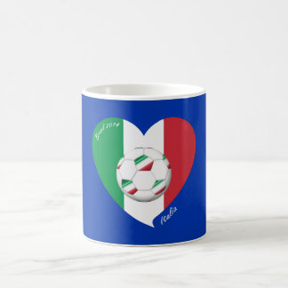 Flag of ITALY SOCCER and national teams 2014 Coffee Mug