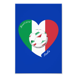 Flag of ITALY SOCCER and national teams 2014 Photograph