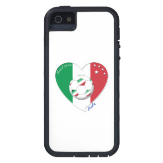 Flag of ITALY SOCCER of national heart 2014 iPhone 5 Cases