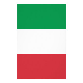 Flag of Italy Stationery