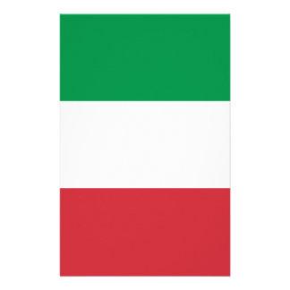 Flag of Italy Stationery