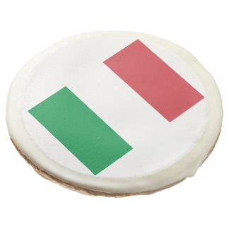 Flag of Italy Sugar Cookie