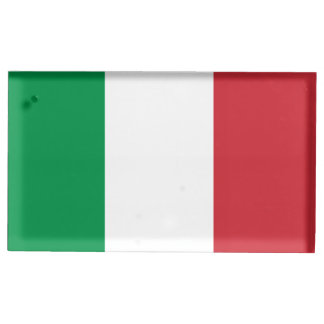 Flag of Italy Table Number Holder