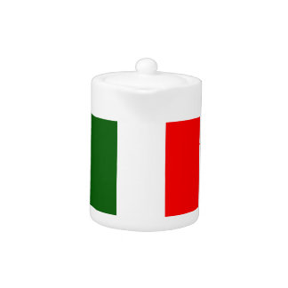 Flag of Italy Teapot