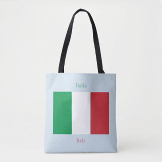 Flag of Italy Tote Bag