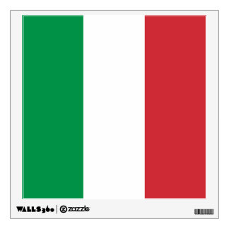 Flag of Italy Wall Decal