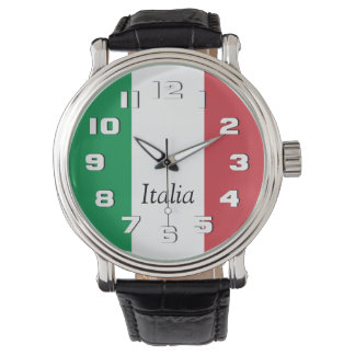 Flag of Italy Wristwatch