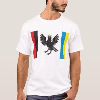 Flag of Ivano-Frankivsk Oblast, Ukraine T-Shirt