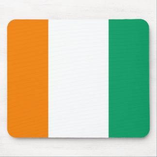 Flag of Ivory Coast - Drapeau de la Côte d'Ivoire Mouse Pad