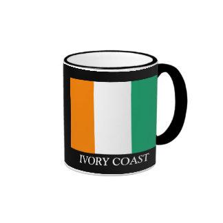 FLAG OF IVORY COAST RINGER MUG