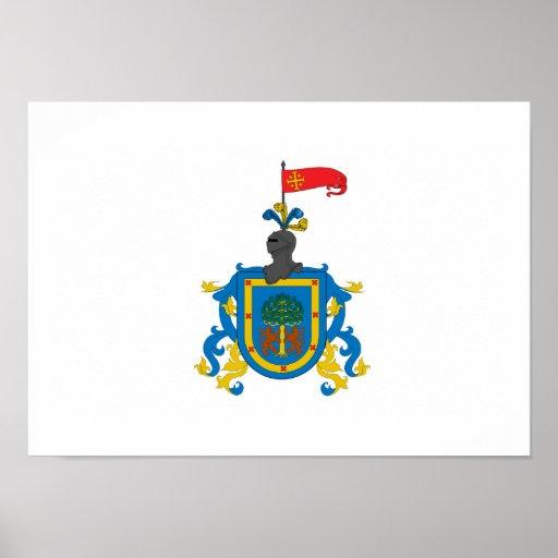 Flag of Jalisco (heraldry) Print