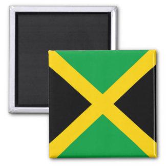 Flag of Jamaica 2 Inch Square Magnet
