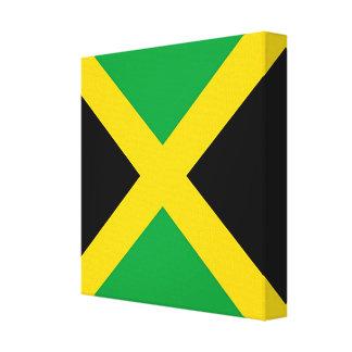 Flag of Jamaica Canvas Print