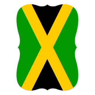 Flag of Jamaica Card