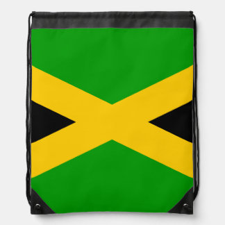 Flag of Jamaica Drawstring Backpack