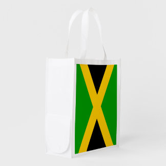 Flag of Jamaica Grocery Bag