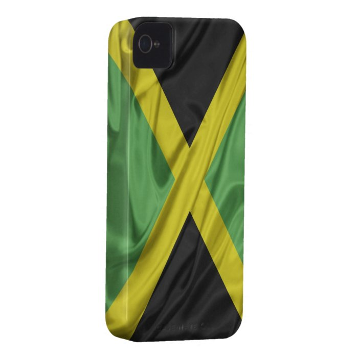 Flag of Jamaica iPhone 4/4S Case-Mate Barely There Case-Mate iPhone 4 Case