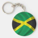 Flag of Jamaica Key Chains