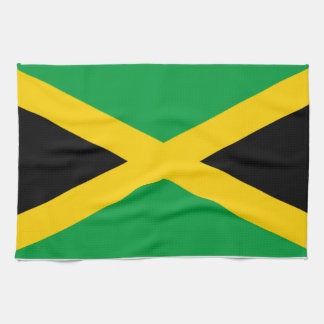 Flag of Jamaica Kitchen Towel