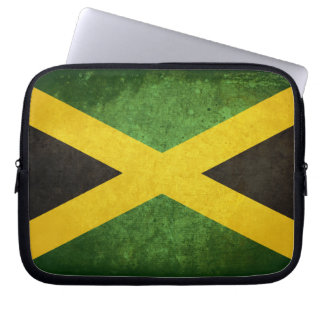 Flag of Jamaica Laptop Computer Sleeves
