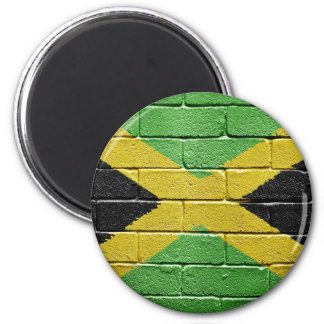 Flag of Jamaica 2 Inch Round Magnet