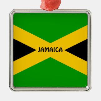 Flag of Jamaica Metal Ornament