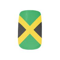 Flag of Jamaica Minx Nail Art