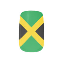 Flag of Jamaica Minx Nail Art