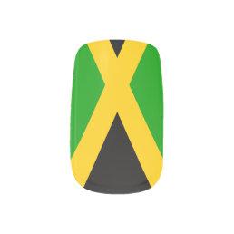 Flag of Jamaica Minx Nail Wraps
