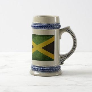Flag of Jamaica 18 Oz Beer Stein