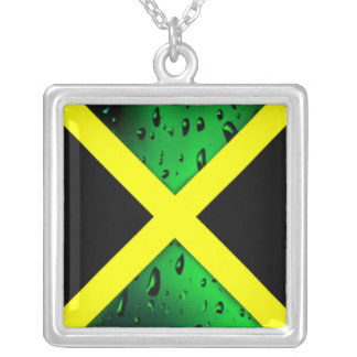 Flag of Jamaica Necklace