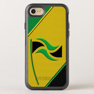 Flag of Jamaica OtterBox Symmetry iPhone 7 Case