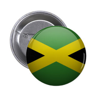 Flag of Jamaica Pinback Button