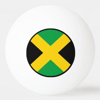 Flag of Jamaica Ping Pong Ball