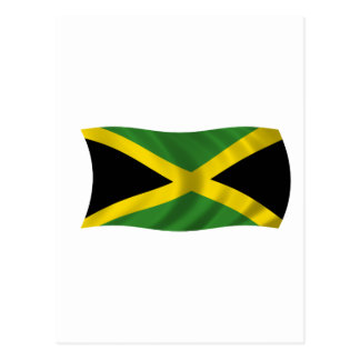 Flag of Jamaica Postcard