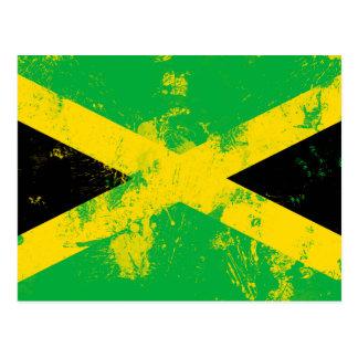 Flag of Jamaica Postcard