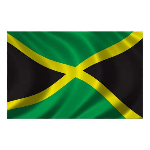 Flag of Jamaica Posters