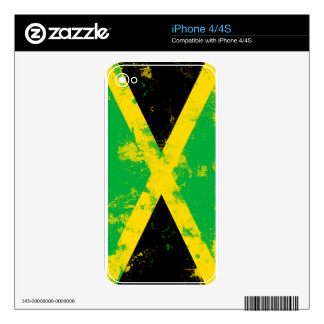 Flag of Jamaica Decal For iPhone 4