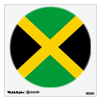 Flag of Jamaica Wall Decal