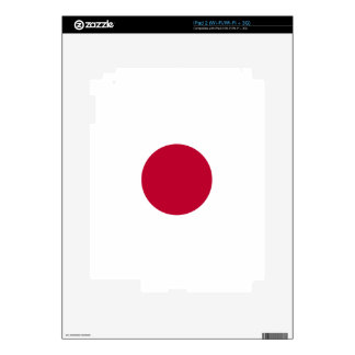 Flag of Japan - 日章旗 - 日の丸 - 日本の国旗 Skin For The iPad 2