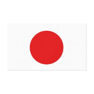 Flag of Japan Canvas Print