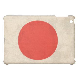 Flag of Japan Distressed iPad Case