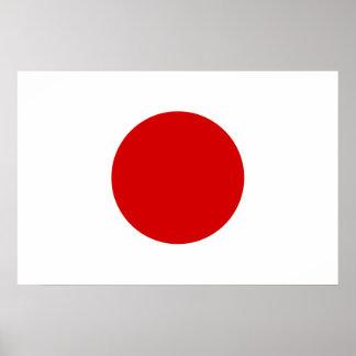Flag of Japan Poster