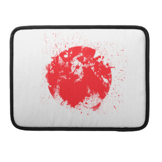 Flag of Japan Sleeve For MacBooks