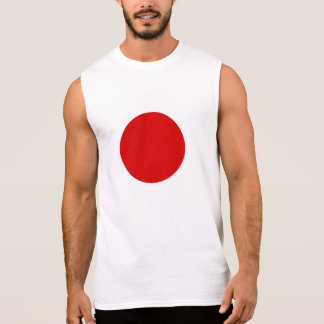 Flag of Japan Sleeveless Shirt